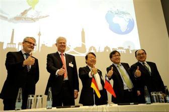 台湾代表团在德国探索智能制造业