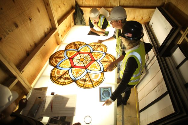 St-Patricks-Cathedral-stained-glass-repair-MBB-Architects-credit-whitney-cox-624x416