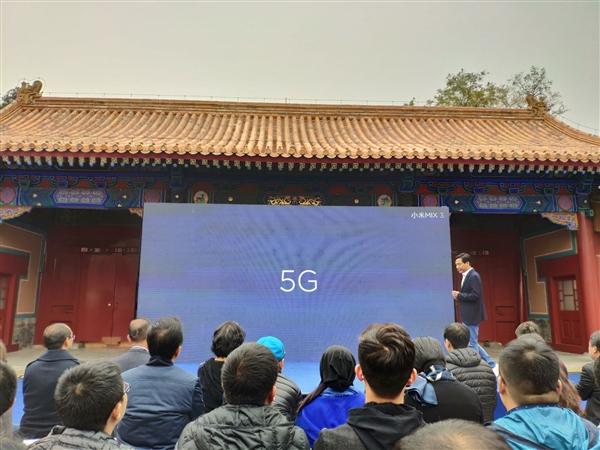 官宣!小米MIX 3 5G版亮相:明年一季度上市