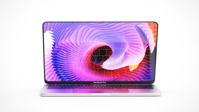 新MacBook Pro概念:圆角全面屏设计