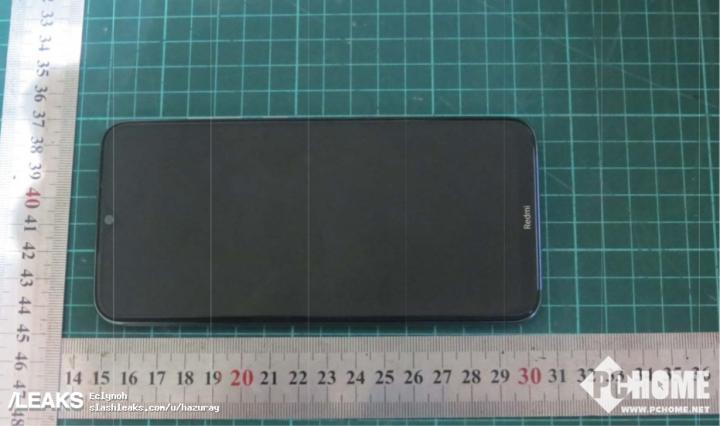 Redmi Note 8证件照 水滴屏配后置四摄