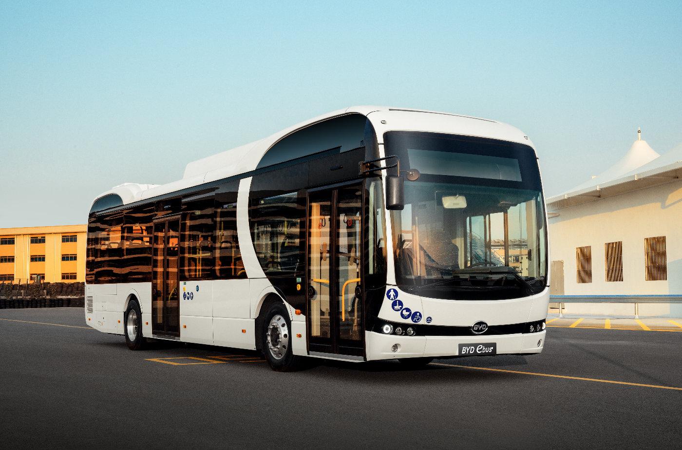 比亚迪获得德国首个纯电动大巴订单