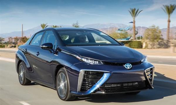 丰田氢能源共享汽车来了 一分钟仅7毛钱你开不开?