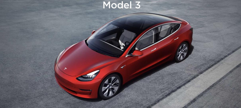 特斯拉Model 3丨特斯拉