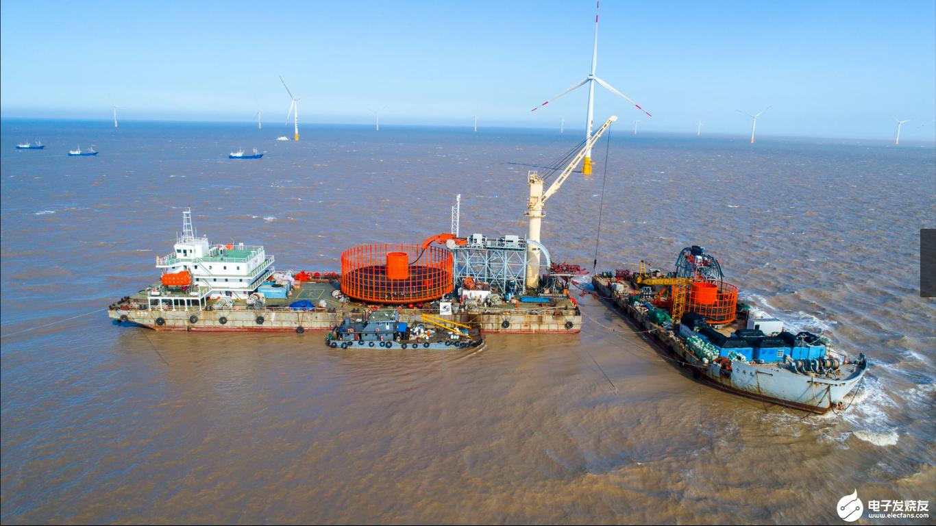 我国第一个中外合资海上风电项目落地