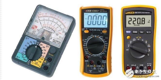 万用表代表什么数字_万用表是用来测量什么的_万用表使用方法图解