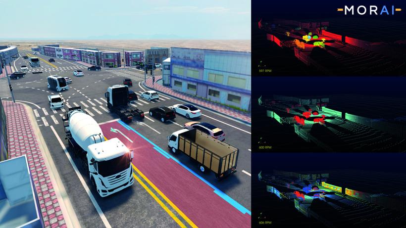 前瞻技术,自动驾驶汽车,场景创建
